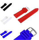 HOT Quality Unisex Multi-color Rubber Watch Strap Band Buckle for Women Men
