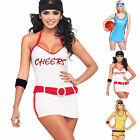 Sexy Cheerleader Sundress Outfit Fancy Dress For Sports Event Basketball Cosplay