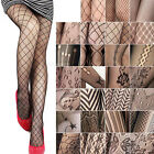 Fashion Sexy Black Women Fishnet Net Pattern Jacquard Pantyhose Tights Pants