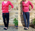 EXTRA LONG Cuffed Jersey Trouser, TALL Joggers SIZES S M L XL ___