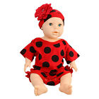 New Cute Baby Girl Outwear Outfits Large Flower Romper Hat B Newborn Soft
