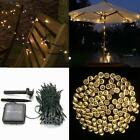 Solar Powered 60/100/200 LED String Fairy Lights Garden Outdoor Xmas Party Lamp cheap