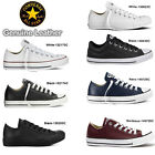 New Converse Leather Trainers Shoes Unisex Ladies Womens Girls Boys Sports Size