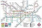 New London Underground Map London Underground Poster