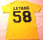 Pittsburgh Penguins Kris Letang throwback distressed t shirt
