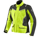 Rev It Voltiac HV Motorcycle Textile Jacket High Visibility CE Armour Waterproof