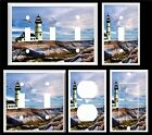 LIGHTHOUSE SEAGULLS  K2  LIGHT SWITCH COVER PLATE OR OUTLETS U PICK PLATE