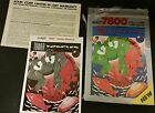 BOX & INSTRUCTIONS ONLY TOWER TOPPLER FOR  ATARI 7800  (NO GAME)