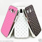DIAMANTE BLING GLITTER BACK CASE COVER SKIN FOR SAMSUNG SM-G357FZ GALAXY ACE 4