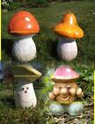 NEW DESIGN RUBBER LATEX MOULD MOLD MOULDS TO MAKE MUSHROOM TOADSTOOL 4 DESIGNS