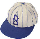 American Needle MLB Brooklyn Dodgers 1917-22 Home Cooperstown Fitted Cap