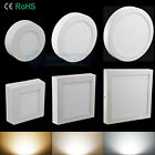 Dimmable 9W/15W/21W LED Surface Panel Wall Ceiling Down Lights Mount Lamp E1A