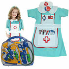 MEDICAL BAG NURSE OUTFIT CHILDREN GIRL FANCY DRESS UP AGE 5-7 3-5 TOYS HOSPITAL