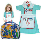 Kids Nurse Outfit Medical Doctor Bag Children Girl Fancy Dress Up Toys Hospital