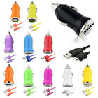 Micro USB Fast Car Charger Data Cable for Samsung Galaxy S3 S4 HTC Mobile Phone