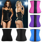 Weight Loss Latex Rubber Waist Training Cincher Underbust Corset Body Shaper