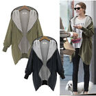 Women Oversize Zip UP Jacket Long Coat Hoodie Cardigan Blazer