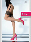 Fiore Fresia 20 Denier Patterned Tights Mock Suspender Lace Pattern 1 pair STW