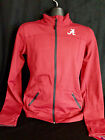University of Alabama Women's Crimson Yoga Jacket with White Script A