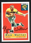 Ron Waller #102 signed autograph auto 1994 Topps 1956 Archives Football Card