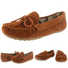 Lucky Brand Aligabe Women's Slip On Faux Fur Lined Moccasins