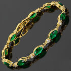 Wedding Party Jewelry Fashion Yellow Gold Plated Gp Bracelet