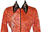 Girls Western Rail, Glamour, Reining, Trail, Rodeo Shirt in 5 Color Choices