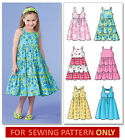 Внешний вид - SEWING PATTERN! MAKES DRESS/SUNDRESS! 6 STYLES! SIZES TODDLER 2 TO CHILD 8! GIRL