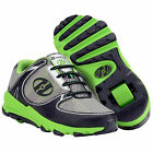 HEELYS Sprint Children's Roller Shoes 7974 (Black Neon Green)