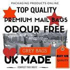 Strong Grey Plastic Post Mailing Postage poly Bags Self seal All Sizes