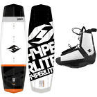 New 2015 Hyperlite Vapor Mens Wakeboard Package with Destroyer Bindings