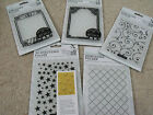 DoCrafts Papermania Xcut Embossing Folders - A6 - '3D STARS' - last stock!!