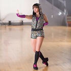 In Stock LIMITED EDITION Multi Sequin Modern Jazz Short Jumpsuit All Sizes