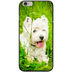 West Highland Terrier Westie Dog Hard Case For Apple Phone Models