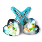 Wholesale cartoon Tinker bell Hair Clips Girls Hair Accessories Party Gift N093