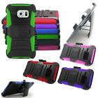 Phone Case For Samsung Galaxy S6 Rugged Cover Stand with Holster Belt Clip