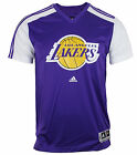 Adidas NBA Basketball Men's Los Angeles Lakers Gametime Shirt - Purple on eBay