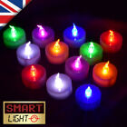 SmartLight Flameless FLICKERING Battery LED Tea Light Candles Tealights Bathroom