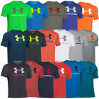 UNDER ARMOUR CHARGED COTTON SPORTSTYLE LOGO T-SHIRT SPORT FREIZEIT FITNESS TEE