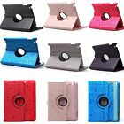 PU Leather 360 Rotating Magnetic Cute Smart Case Cover Stand For iPad 2 3  4 New