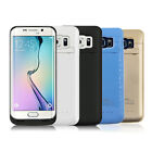 4200mAh Battery Case Power Charger Charging Cover For Samsung Galaxy S6 Edge