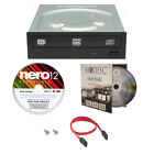 LITE-ON 24X CD DVD Burner+FREE 1pk MDisc DVD+Nero Software+Cable Internal Drive