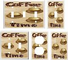 COFFEE TIME KITCHEN DECOR K1 LIGHT SWITCH COVER PLATE U PICK PLATE SIZE