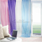 "54""X90"" Solid Sheer Window Panel Brand New Curtain Voile Scarf Good Quality Hot"