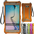 For Samsung Galaxy S6/S6 Edge Transformers Aluminum Alloy Metal Case Cover Skin