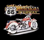 AMERICAS OLD MOTORCYCLE WOODIE T-SHIRT SIZES MEDIUM TO XL NEW!!