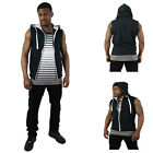 Company 81 Men's French Terry Sleeveless Hoodie Hooded Sweatshirt
