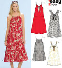 Sew & Make Simplicity 6700 New Look SEWING PATTERN - Womens SLEEVELESS DRESSES