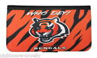 CINCINNATI BENGALS SAMSUNG GALAXY iPHONE CELL PHONE CASE LEATHER COVER WALLET