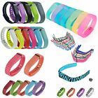 Lots Style Replacement Wrist Band w/ Clasp For Fitbit Flex Bracelet Small/Large